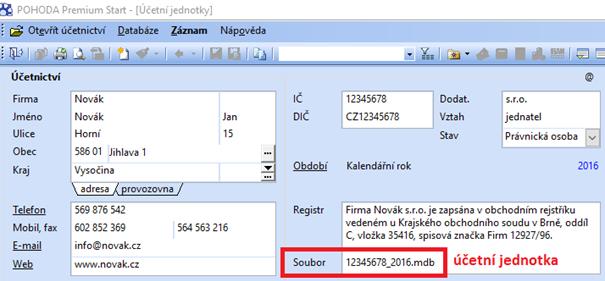 Nastavení Internetové obchody Parametry internetových obchodů - číselník  parametrů ... 12768e9f03c